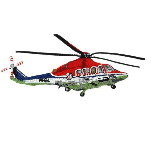 ヘリコプターワッペン