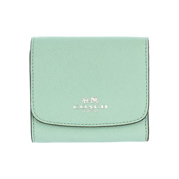 COACHグリーン財布