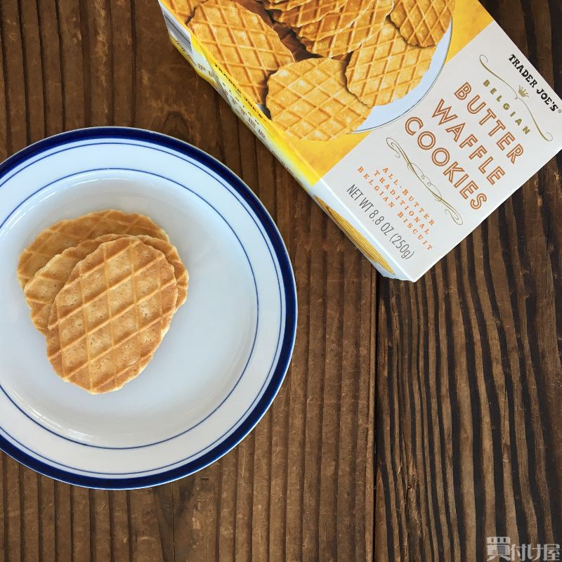 Trader Joe's butter waffle cookie 4