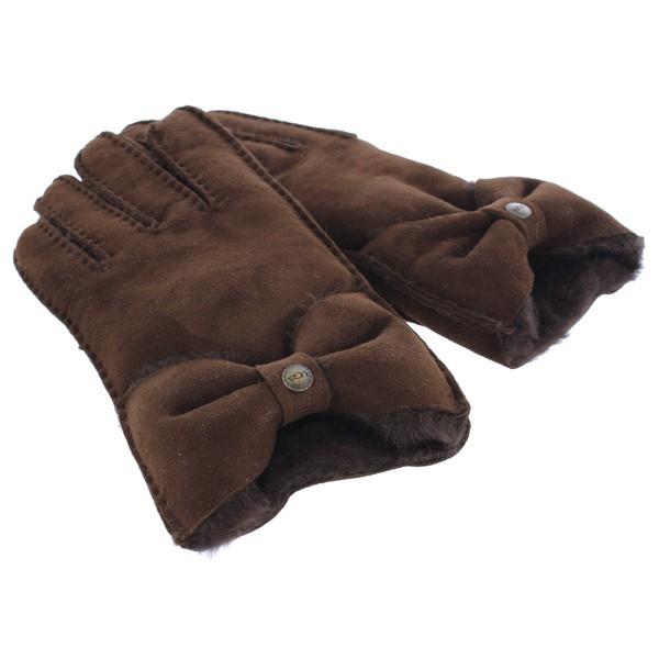UGG手袋チョコレート写真2